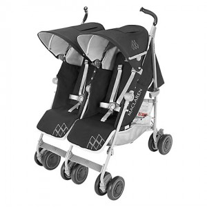 Maclaren Twin Techno - Black