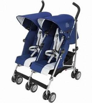 Maclaren Twin Triumph-Blue