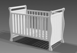 Cotton Home Luxury Baby Cot Set