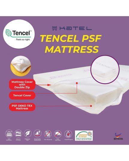 KATEL Tencel PSF Babycot Mattress size 70cm x 130 cm