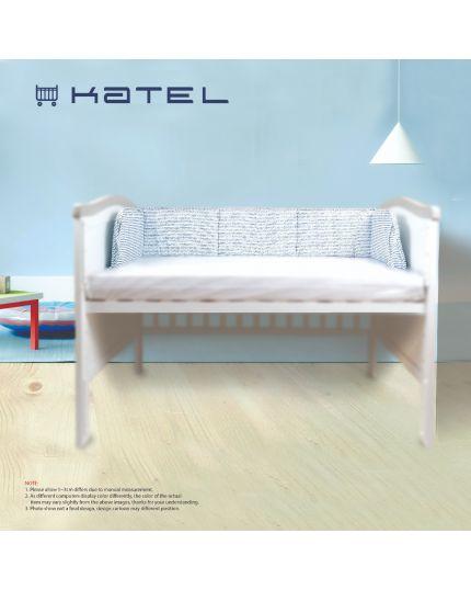 KATEL Premium Baby Cot Bumper - B001
