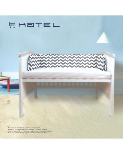 KATEL Premium Baby Cot Bumper - B002