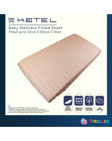KATEL Baby Mattress Fitted Sheet - A007