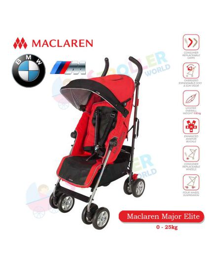 Maclaren BMW M Crimson