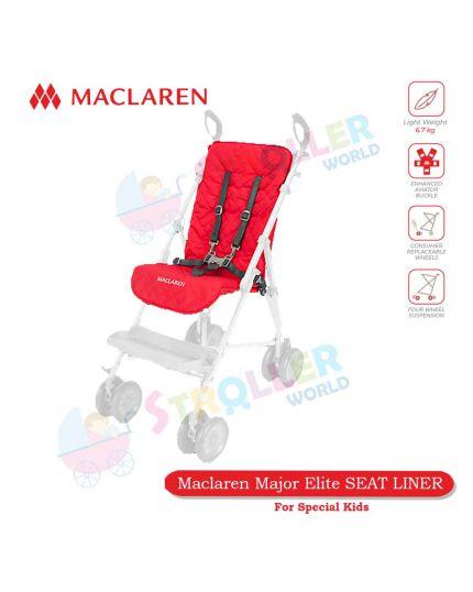 Major Elite SEAT LINER - CARDINAL