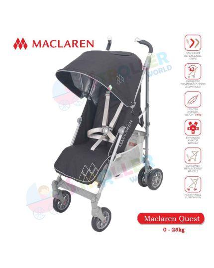 Maclaren Techno XT -CHARCOAL PREMIUM
