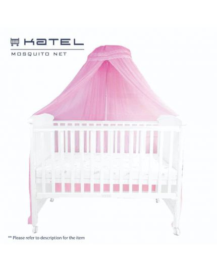 KATEL Mosquito Net Pink ( Clip type)