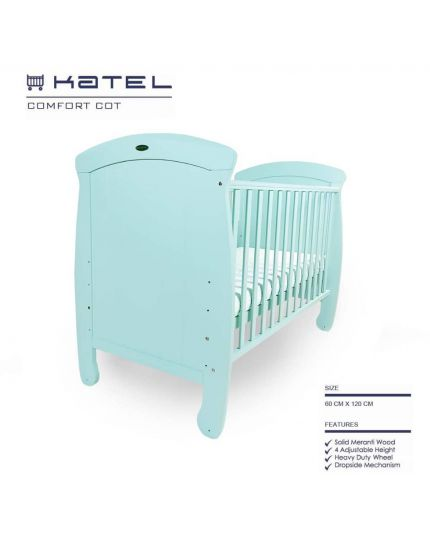 KATEL baby cot - 997 Green
