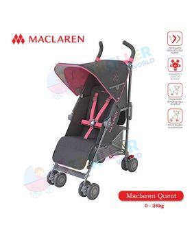 Maclaren Quest -Charcoal / Primrose