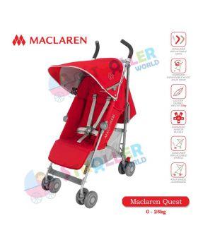 Maclaren Quest -Cardinal / Silver