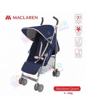 Maclaren Quest  -Medieval Blue / Silver