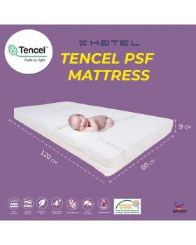KATEL Tencel PSF Babycot Mattress size 60cm x 120 cm