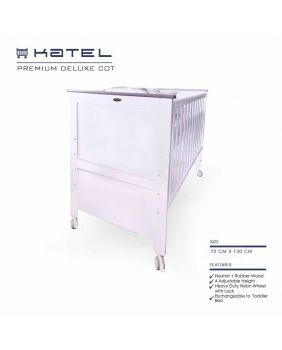 KATEL Baby Cot - Premium Deluxe