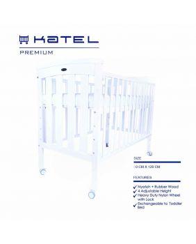 KATEL Baby Cot - Premium
