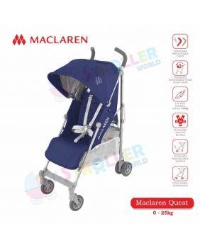 Maclaren Quest  -MEDIEVAL BLUE / SILVER - PREMIUM